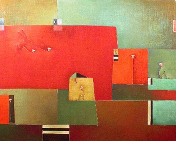 Antonia GuzmánDOS LOCOS LLEGAN120 x 150 cmMarzo 2007