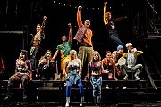 """'Rent' RevivalAn Off Broadway version of """"Rent"""", just 3 years after the end of its 12-year production on Broadway.[Sara Krulwich/The New York Times]"""