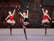 "Sara Mearns Balanchine's ""Western Symphony."" [Paul Kolnik/New York City Ballet]"