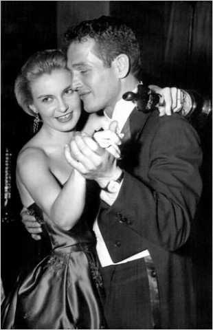 "[Photo: Everett Collection] Mr. Newman was married 50 years to one of Hollywood's great actresses, Joanne Woodward, and they appeared together in 10 films. The two are pictured here dancing at a party celebrating her 1958 Oscar for ""Three Faces of Eve."""