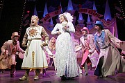 """[Original London Cast Photo by Catherine Ashmore]""""We are not yet dead, so we might as well get wed!""""Monty Python's Spamalot: Broadway, London, Vegas, Australia and U.S. Tour"""