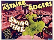 """Swing Time (1936)When acolytes of movie musicals talk about the best of the best, they're apt to put """"Swing Time"""" at or near the top of their list. In that lustrous vehicle for Fred Astaire and Ginger Rogers, the charmingly silly complications of the plot are swept away by one stunning number that draws heartache and hope from the music of Jerome Kern and the lyrics of Dorothy Fields. It's when Fred, who has just been told by Ginger that she's going to marry someone else, sings """"Never Gonna Dance."""" And then, of course, dances with her -- ardently, and gloriously."""