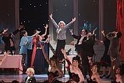 "Winner Best Musical Revival 2010 Tony Award ""La Cage aux Folles.""Douglas Hodge, center, won best actor in a musical for the revival of ""La Cage aux Folles."" [Credit: Sara Krulwich/The New York Times]"