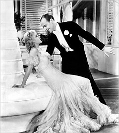 "SEX THEN: Ginger Rogers and Fred Astaire in the 1934 film ""The Gay Divorcee.""
