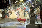 """[New Line Cinema]Hairspray the Film. No one's more dynamic than Motormouth Maybelle (Queen Latifah) on """"The Corny Collins Show."""""""