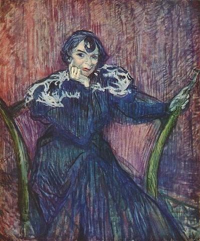 Henri de Toulouse-LautrecFrench, 1864 - 1901 Berthe Bady 1897