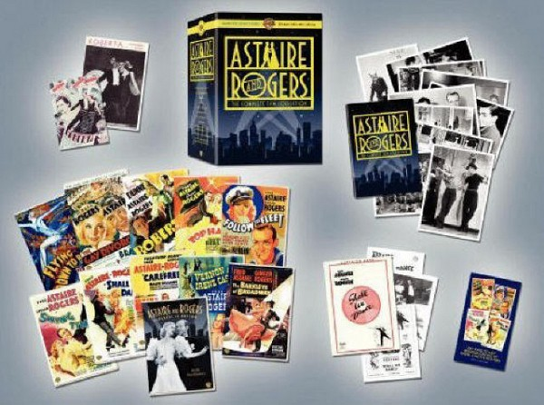 DVD: Astaire & Rogers Ultimate Collector's Edition<br>Flying Down to Rio<br>The Gay Divorcee<br>Roberta<br>Top Hat<br>Follow the Fleet<br>Swing Time<br>Shall We Dance<br>Carefree<br>The Story of Vernon and Irene Castle<br>The Barkleys of Broadway