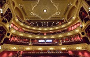 Newcastle Theatre Royal reopened on Monday following a £4.9m refurbishment project that has seen a massive overhaul of its 1,300-seat auditorium.[Photograph: Rory Gibson]