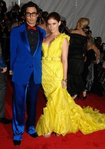 [Gamma]Zac Posen et l'actrice Kate Mara… en Zac Posen.