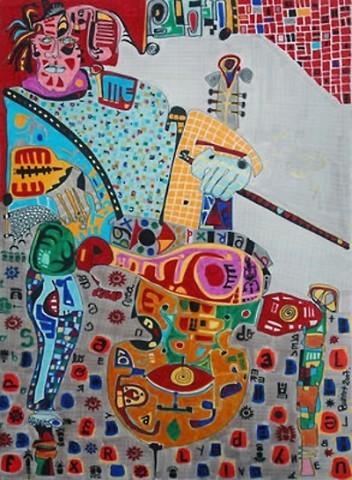 Pablo Di MassoABRAKADABRA200670 x 100 cm