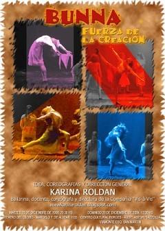 Bunna, Fuerza de la Creación (Karina Roldán)