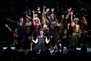 Rock of Ages at the Brooks Atkinson Theater, 256 West 47th Street [Photo: Sara Krulwich/The New York Times]