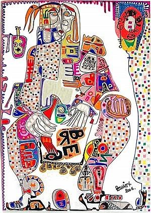 Pablo Di Masso BREAMAN 2006 70 x 100 cm