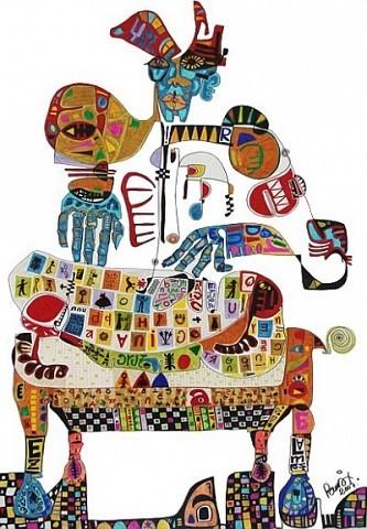 Pablo Di MassoBROCAMAN200770 x 100 cm