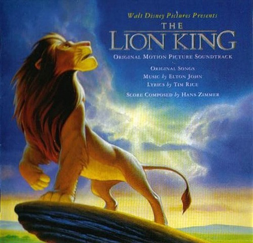 THE LION KING. Original Motion Picture Soundrack