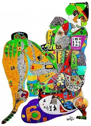 Pablo Di MassoCalchaqui55 x 82 cmTinta/Papel2010