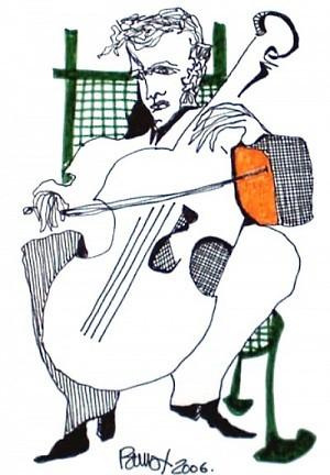 Pablo Di Masso CHELO OCRE 2006 10 x 15 cm