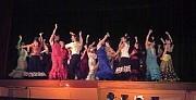 Exhibición de Flamentco en el Teatro Club Italiano dic-2009. [Foto Ariel Lichtig]