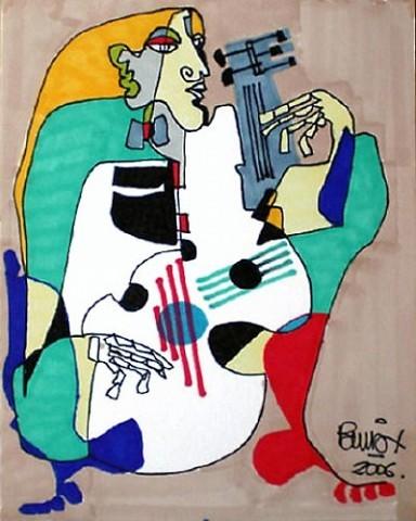 Pablo Di Masso DOS GUITARRAS 2006 12 x 15 cm