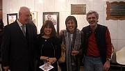 Augusto, Olga, Patricia y Pablo en la Exposición