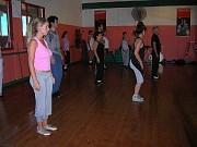 Clases de tap-dance de Alberto Agüero 2007 en el Club del Tejar [Foto Alejandro Lapeyre]