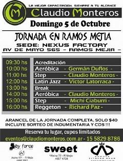 Nuevo Curso Junto a Adrián Andreani (Claudio Monteros)
