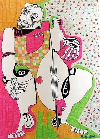 """Pablo Di Masso""""EL LETRISTA""""200821 x 29.7 cm"""