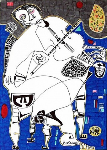 Pablo Di Masso EL VIOLÍN DEL SUR 2007 21 x 29.7 cm