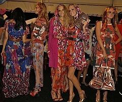 Défilé Diane von Furstenberg P-A-P, Printemps-été, 2009, Prêt-à-porter