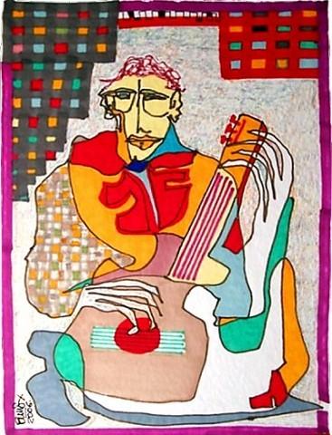 Pablo Di MassoGUITARREANDO200670 x 100 cm