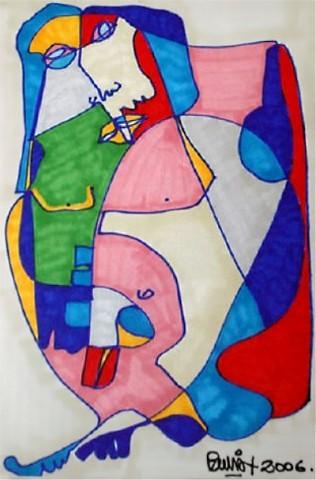Pablo Di Masso HOMBRE COMPACTO 2006 12 x 15 cm