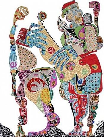 Pablo Di MassoIMPROVISANDO200853 x 70 cm