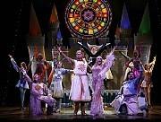 [Photo Carol Rosegg]John O'Hurley, Nikki Crawford and the Las Vegas castLas Vegas SPAMALOT Opened March 31st, 2007