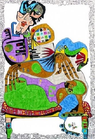 Pablo Di MassoMIKE UNO2010TINTA SOBRE PAPEL29,5 x 42 cm