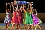 """Mark Morris Dance Group performing """"L'Allegro, il Penseroso ed il Moderato"""" in the Mostly Mozart Festival. [Andrea Mohin/ The New York Times]"""