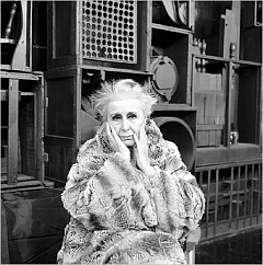"""[Courtesy of the Cecil Beaton Studio Archive/Sotheby's]Louise Nevelson, the subject of """"Edward Albee's Occupant,"""" opening in May at Signature Theater."""