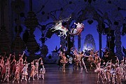 """[Paul Kolnik]The New York City Ballet production of Balanchine's classic """"Nutcracker,"""" with sets designed by Rouben Ter-Arutunian."""
