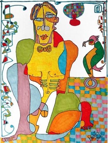 Pablo Di MassoPÁJARO Y PAJARITA200621 x 30 cm