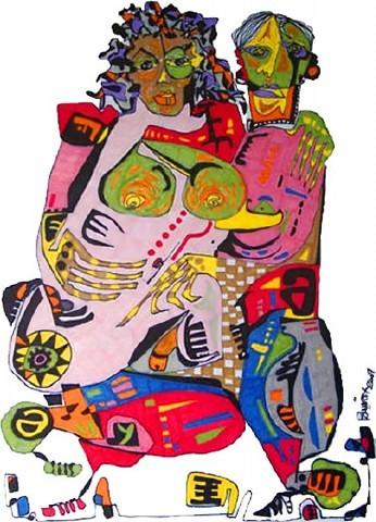 Pablo Di Masso PAREJA SENTIMENTAL 2006 21 x 30 cm