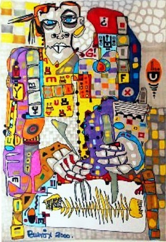 Pablo Di MassoPESCADO200630 x 50 cm