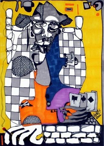 Pablo Di MassoPOCKER200621 x 30cm
