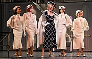 """""""Anything Goes"""" Winner Tony Award Best Revival of a Musical Sutton Foster Winner Tony Award Best Performance by an Actress in a Leading Role in a Musical/ Sutton Foster, center, stars in the revival of the musical """"Anything Goes.""""[Sara Krulwich/The New York Times]"""