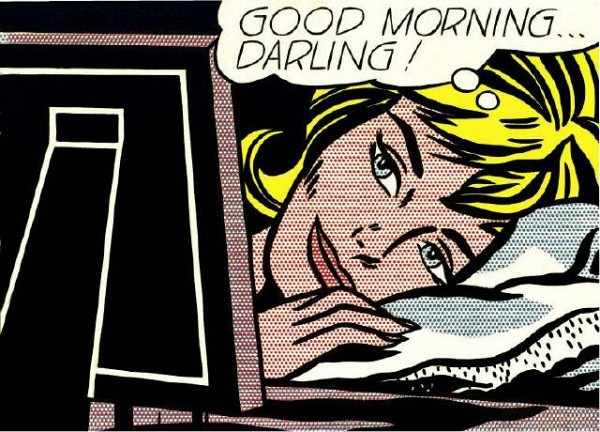 [GAGOSIAN GALLERY] SLEEPING BEAUTY Roy Lichtenstein's 'Blonde Waiting' (1964) is featured in a new show that opens today at Gagosian gallery.