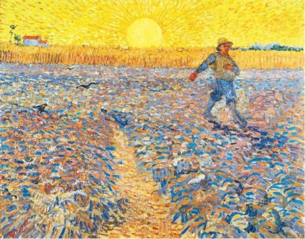 [MUSEUM OF MODERN ART]RAYS OF LIGHTVincent van Gogh's 'The Sower' (1888) will be on view in MoMA's upcoming show 'Van Gogh and the Colors of the Night.'