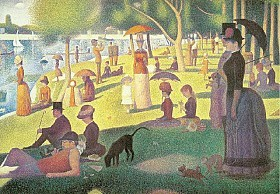 [THE GALLERY COLLECTION/CORBIS]Georges Seurat, 'Sunday Afternoon on the Island of La Grande Jatte' (1884–86).
