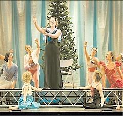 [P E T E R DA S I LVA M M D G] GUIDED BY VOICES Soprano Mhairi Lawson and the Mark Morris Dance Group in 'King Arthur.'