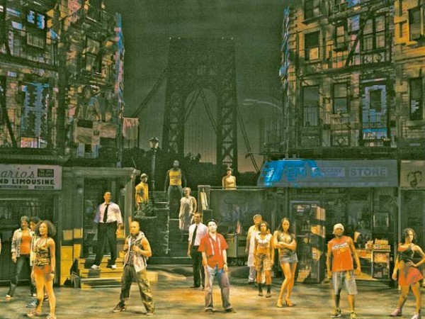 BOHEMIAN WONDERLAND The cast of 'In the Heights.' [JOAN MARCUS]