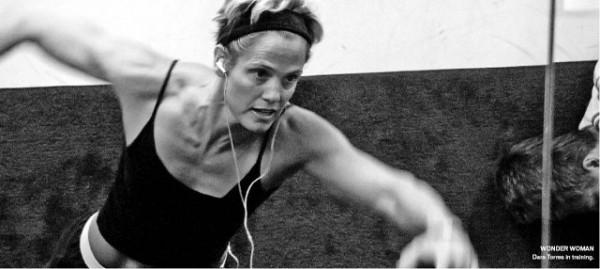 [TR EASURE HD]WONDER WOMAN Dara Torres in training.