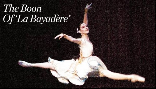 [GENESCHIAVONE] IN FLIGHT Veronika Part in 'La Bayadère.'