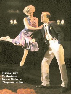 [KATIE ROSIN]THE HIGH LIFE Patti Murin and Stephen Plunkett in 'Glimpses of the Moon.'